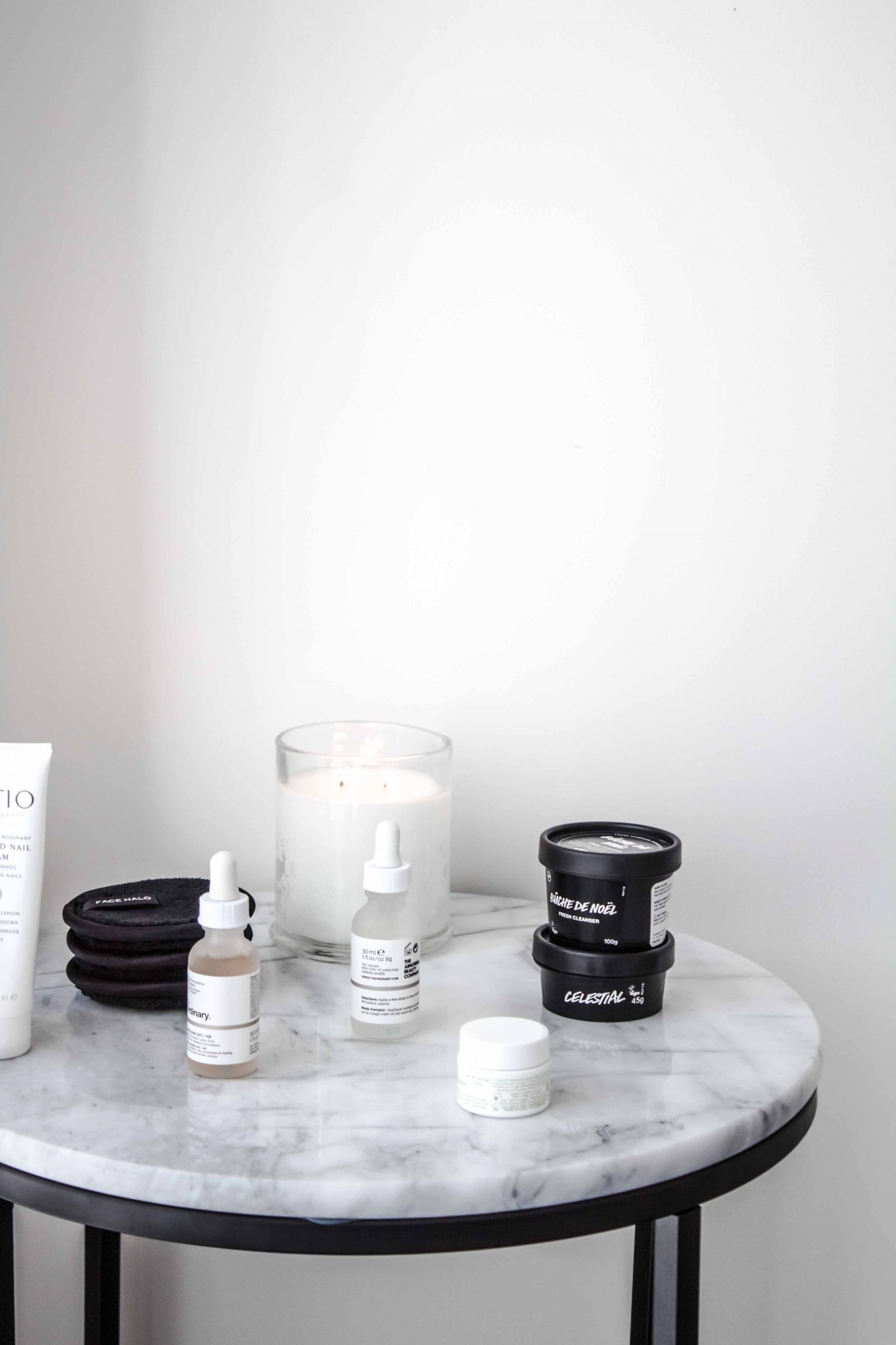 Skincare products on trial